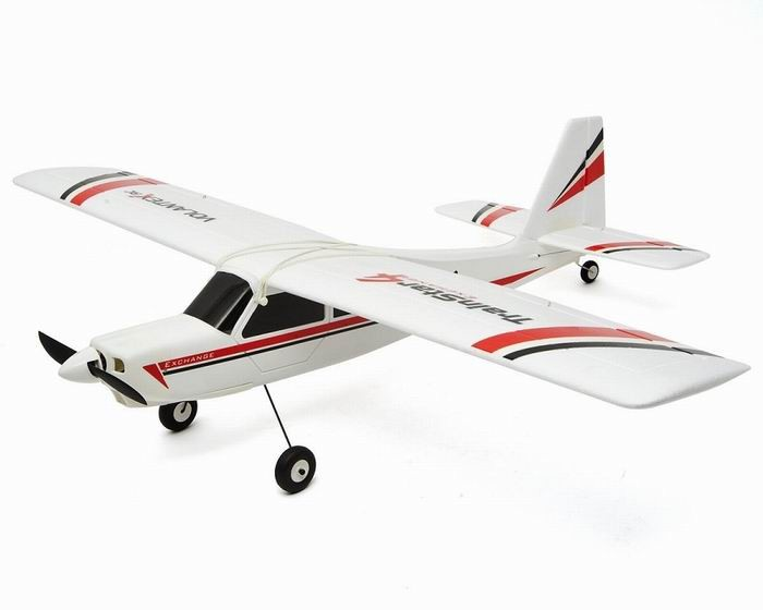 Volantex 1100mm TrainStar Exchange RC Plane (2 Wings Included)