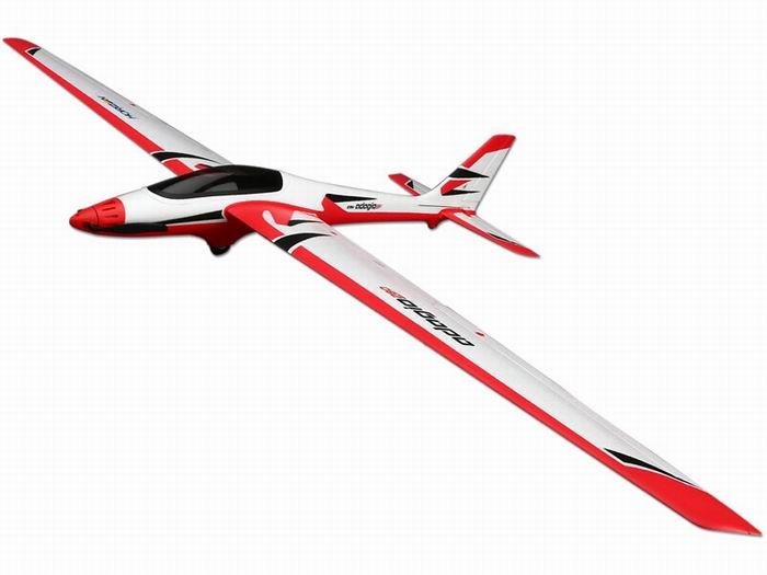 Adagio 280 1420MM RC Glider(w/Flag) Plane PNP No Receiver