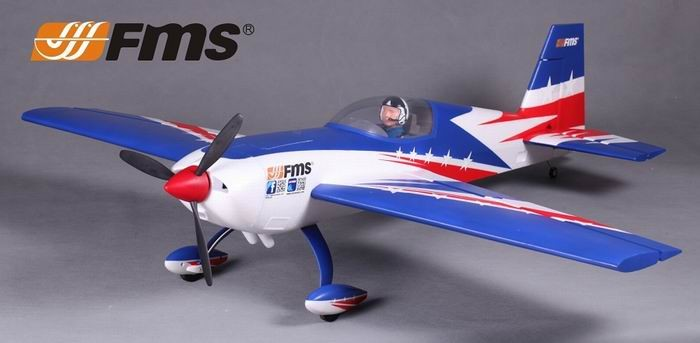 FMS 1300MM Extra 300 3D Aerobatic RC Plane PNP No Radio
