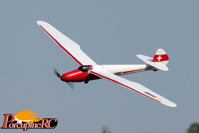 FMS 1500mm Moa Glider RC Plane PNP No Radio