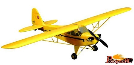 FMS 1100MM J3 Piper Cub RC plane PNP NO Radio