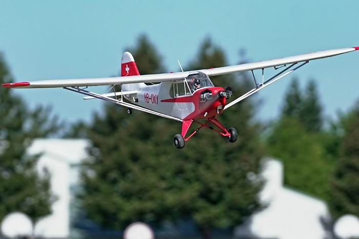 "FMS 1400mm (55.1"") J-3 Cub V3 RC Trainer Plane PNP"