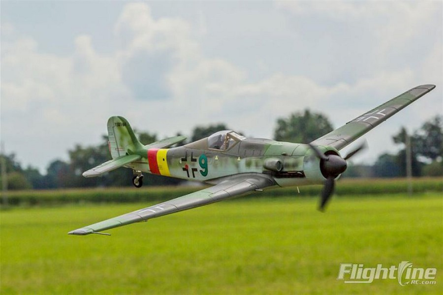 FreeWing Flightline 1300mm Focke-Wulf Ta-152 Warbird RC PNP No Radio