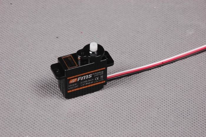 FMS 9g Slow Flap Servo Reverse (with 300mm length cable)