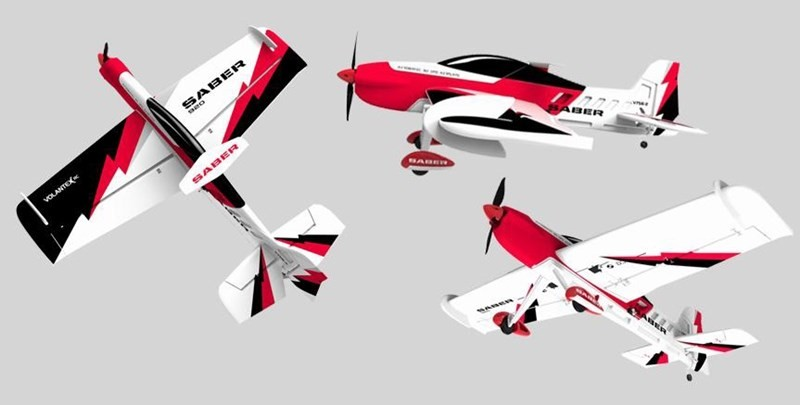 Volantex 920mm Saber 920 3D Aerobatic RC Plane